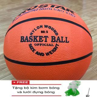 [Lấy mã giảm thêm 30%]Quả bóng rổ Gerustar số 5 - Tặng kim bơm bóng + lưới thumbnail