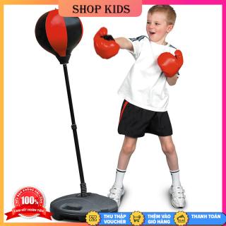 Bộ Đồ Chơi Đấm Bốc Cho Bé, Tập Cơ Tay Tại Nhà, Dụng Cụ Tập Đấm Bốc, Bộ Đồ Chơi Tập Boxing Cho Bé, Đồ Chơi Thể Thao Trẻ Em Đấm Bốc Giúp Trẻ Rèn Luyện Sức Khỏe thumbnail