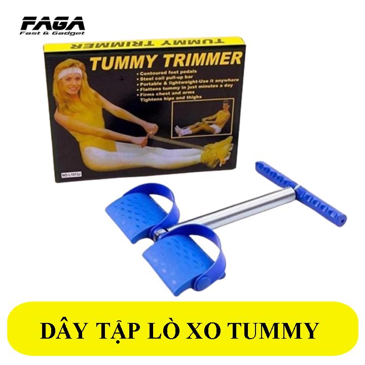 Dụng cụ tập thể dục, máy tập cơ bụng, đồ tập gym tại nhà, dụng cụ tập gym cơ bản, tập cơ bụng 6 múi Tummy Trimmer, Dây kéo lò xo co giãn