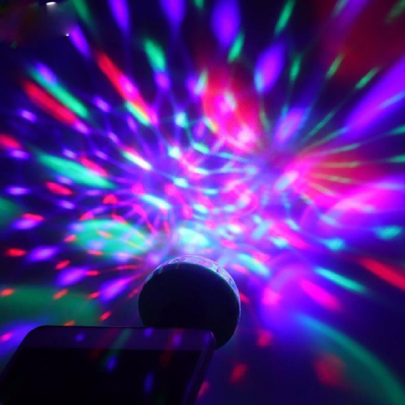 Đèn Chớp Led Đèn Nháy Điện Thoại 7 Màu Sắc mini