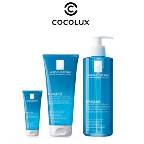 [Công Ty, Tem Phụ] Gel Rửa Mặt Dành Cho Da Dầu, Nhạy Cảm Effaclar Gel Moussant Purifiant- La Roche Posay-[COCOLUX] giá rẻ