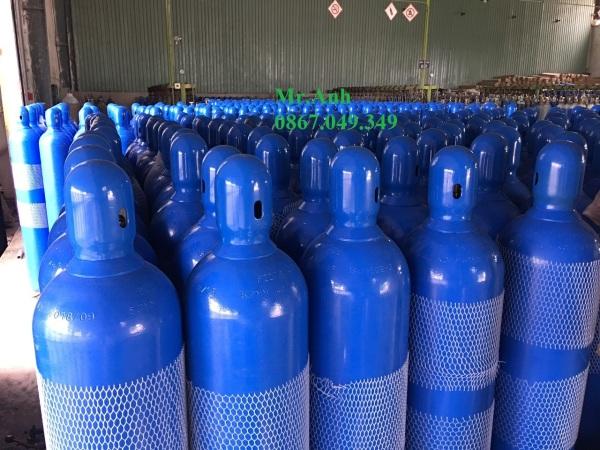 [HCM]bình khí Oxy 40l