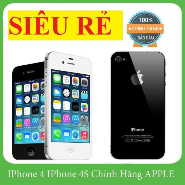 Điện thoại iphone4s 16gb cảm ứng qt có za lo face tặng kèm sạc-Bảo hành uy tín