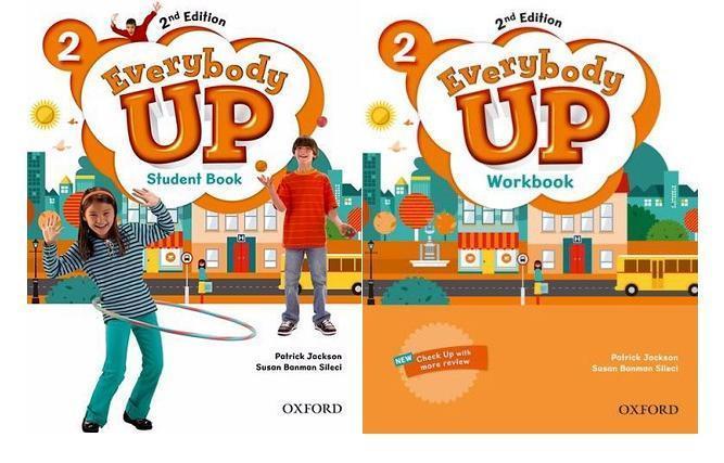 Mua Trọn bộ sách Everybody Up 2 (2nd edition 2 cuốn SB + WB)