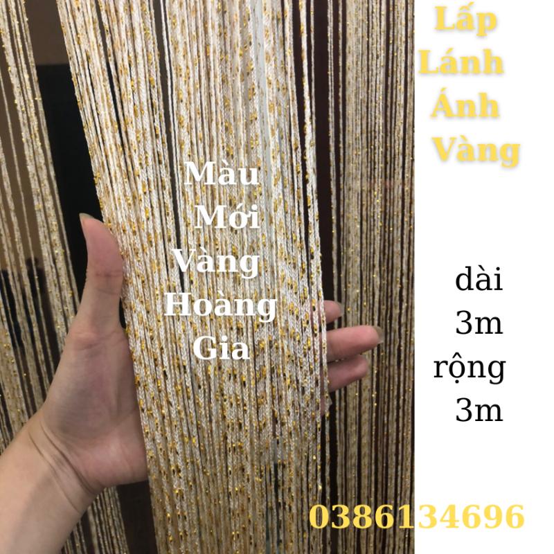 ( XẢ KHO 3 NGÀY ) Rèm spa Rèm kim tuyến rèm sợi dù gắn kim tuyến rèm trang trí spa 3m x3m ( Hàng Loại 1 ).