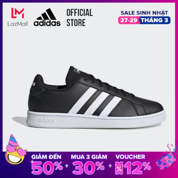 adidas TENNIS Giày Grand Court Base Nam Màu đen EE7900 giá rẻ
