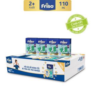 [Freeship] Thùng 48 hộp sữa bột pha sẵn Friso Gold Vani 110ml cho bé trên 2 tuổi thumbnail