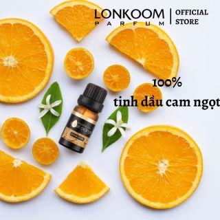LONKOOM PARFUM Tinh dầu thiên nhiên 10ml Quả cam ngọt Liệu pháp hương thơm Liệu pháp hương thơm thư giãn Làm dịu làn da thumbnail