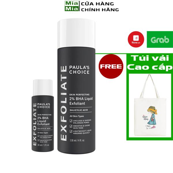 Tẩy Da Chết Paula Choice 2% BHA Tẩy Tế Bào Chết Paulas Choice Skin Perfecting 2% BHA Liquid Exfoliant Se Lỗ Chân Lông