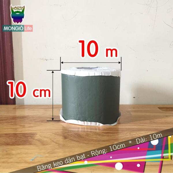 10cm x 10m - Băng Keo Dán Bạt HDPE Nuôi Trồng Thủy Sản, Dán Mái Chống Thấm Nước - 10cm x 10m (Màu Xanh lục)