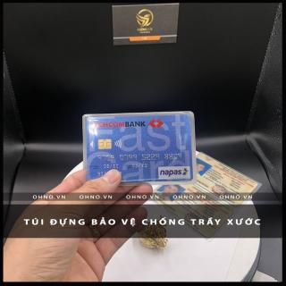 BAO đựng CAO cấp SU hào chống trầy xước thẻ căn cước CMND , ATM, Bằng lái xe , Thẻ sinh viên, nhân viên dạng thẻ PET 7