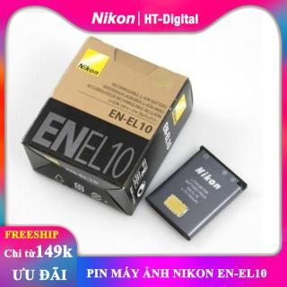 Pin Nikon EN-EL10 cho máy ảnh Nikon S5100 S80 S4000 S3000 S570 S230 S220 S60 S600 S520 S210 thumbnail