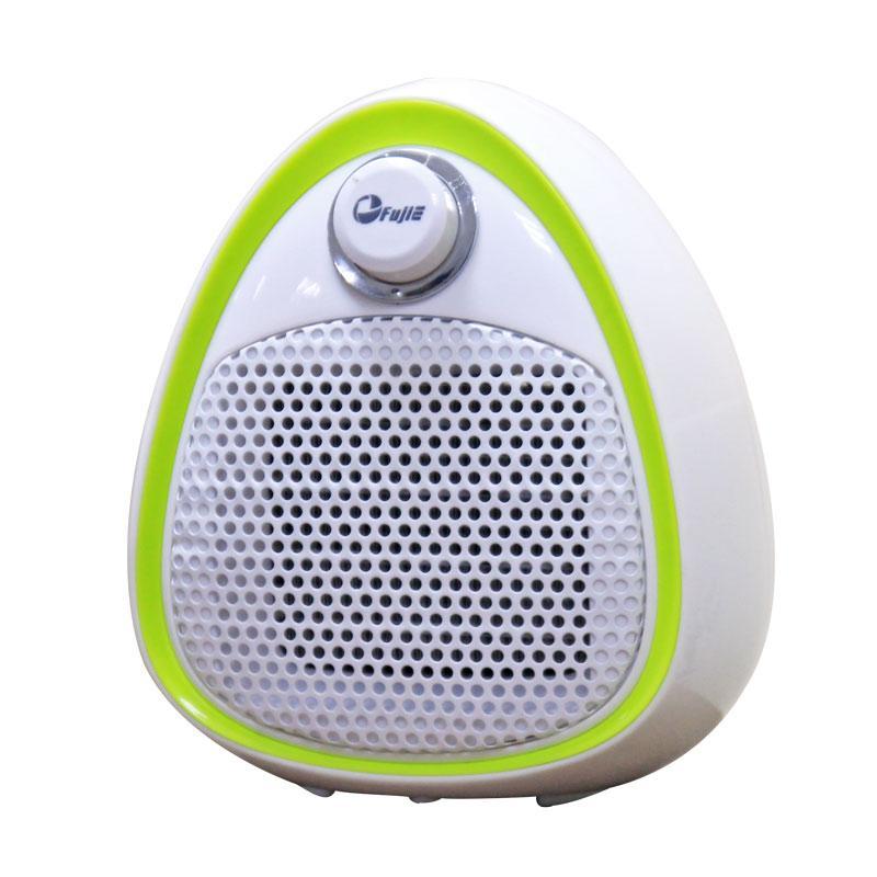 Quạt sưởi gốm mini Ceramic FujiE CH-202 Green (không phát sáng, làm ấm nhanh, tự tắt khi bị nghiêng an...