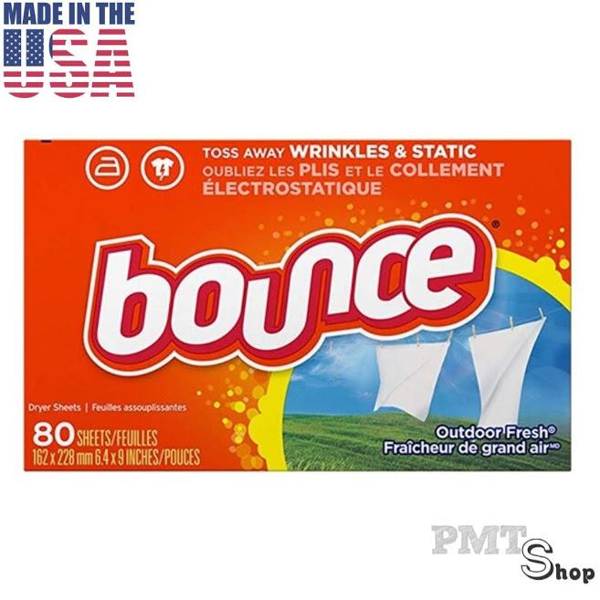 [USA] Hộp Giấy Thơm Bounce Outdoor Fresh 80 Tờ Thơm Phòng, Tủ đồ, Xấy Quần áo - Mỹ Giảm Duy Nhất Hôm Nay