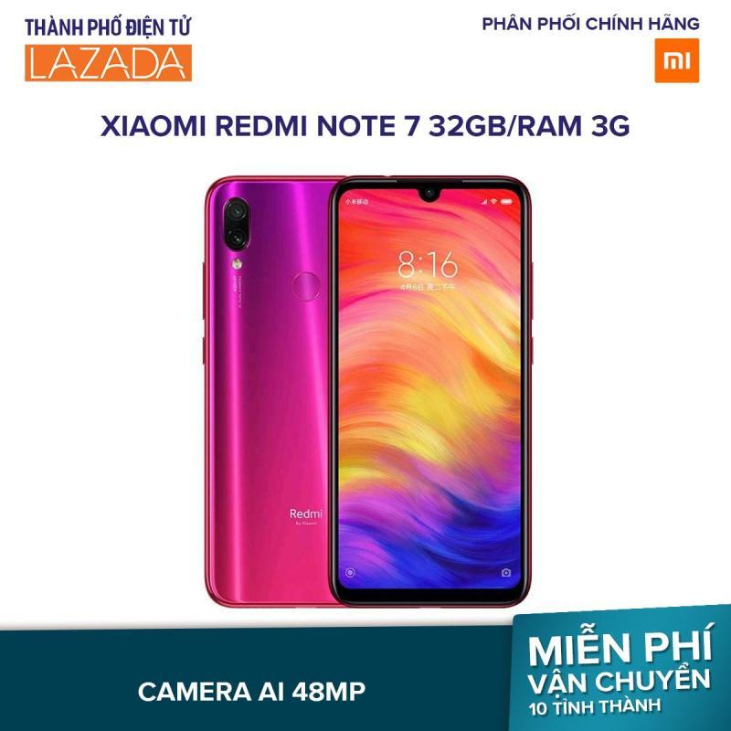 Xiaomi Redmi Note 7 32GB/Ram 3G - Hãng Phân Phối Chính Thức