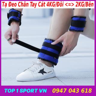 Tạ Đeo Tay Chân Phiên Bản Cát Sắt Siêu Êm 3KG, 4KG - Thiết bị tạ cơ thể hỗ trợ phát triển chiều cao, nâng cao thể lực, sức bật và sức bền thumbnail