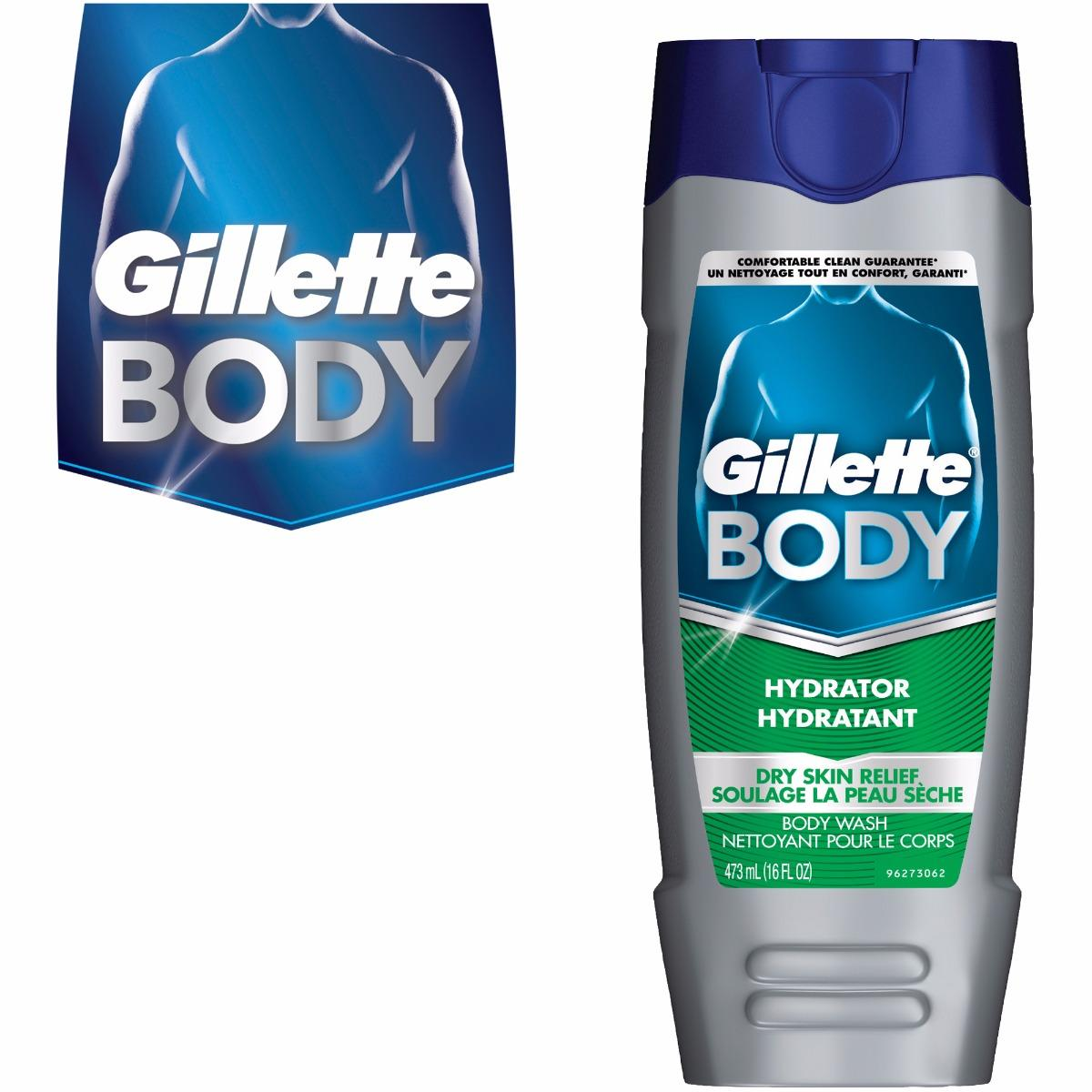 SỮA TẮM NAM GILLETTE BODY DRY SKIN RELIEF 473ml cao cấp