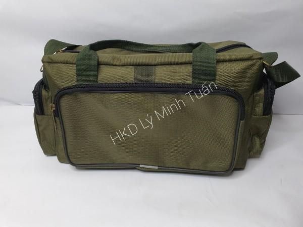 Túi đồ nghề - Ngang hộp lỡ khóa 12 cao cấp (may 2 đường chắc chắn)