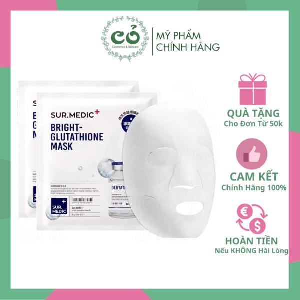 Mặt Nạ Dưỡng Trắng Sur.Medic Bright Glutathione Mask cao cấp