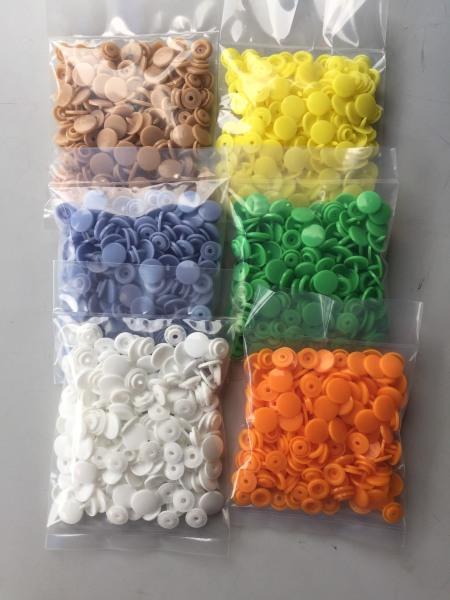 50 Bộ nút nhựa 4 thành phần sử dụng làm nút bấm áo mưa quần áo...