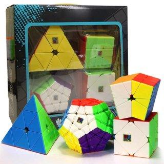 Combo 4 Rubik Biến Thể Gift Box Pyraminx Skewb Megaminx Square-1 thumbnail