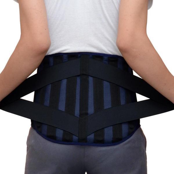 Đai cố định lưng hỗ trợ cột sống, giúp người thoát vị đĩa đệm giảm đau cột sống.Hàng Việt Nam sản xuất (dài 110 cm) cao cấp