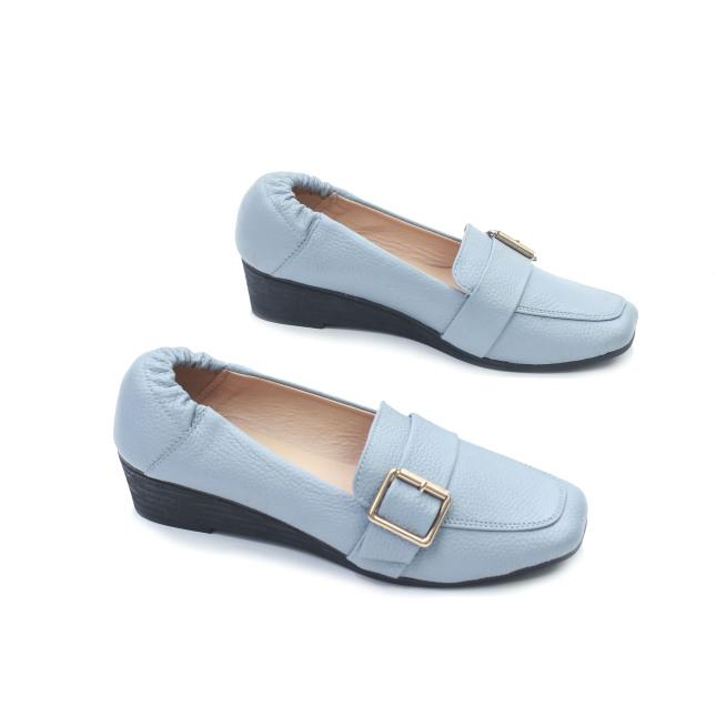 Giày Búp Bê Đế Xuồng Da Thật Gắn Khoá Pixie X596 giá rẻ
