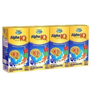 Sữa Bột Pha Sẵn Vinamilk Dielac Alpha Gold IQ 110ml ( Thùng x 48 hộp) thumbnail
