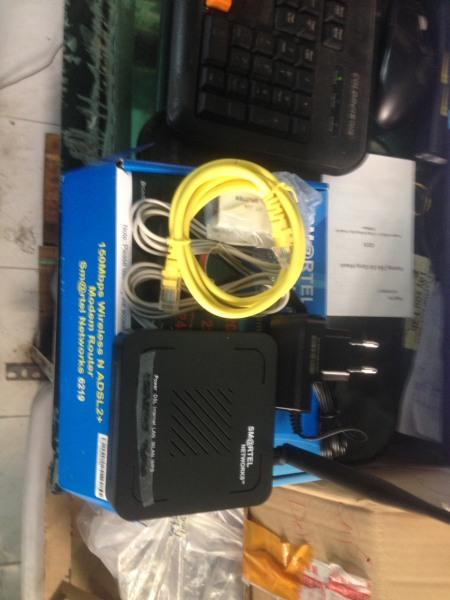 Bảng giá Modem Router Smartel networks 6219 Wireless N ADSL2+ Giá Rẻ-Uy Tín-Chất lượng Phong Vũ