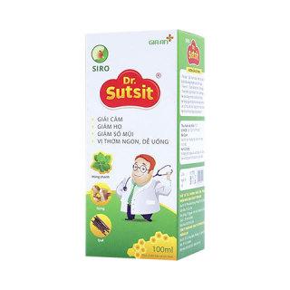 Siro Dr.sutsit - hỗ trợ giải cảm, giảm ho, giảm sổ mũi, hương vị thơm ngon dễ uống ( dạng lọ và túi) thumbnail