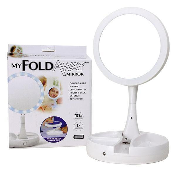 Gương trang điểm thông minh 2 mặt có đèn Led cao cấp tốt nhất