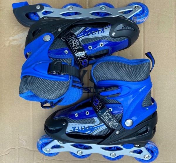 Giá bán Giày trượt patin cao cấp màu xanh đen