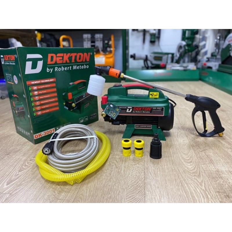 Máy xịt rửa xe chỉnh áp công xuất cao 3000w chính hãng dekton - Mã sản phẩm: DK3001