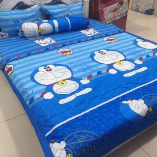 [GIẢM GIÁ] Bộ drap 4 món (1 ga +1 vỏ gối ôm+2 vỏ gối nằm 160 200cm - bộ ga 4 món - bộ ga trải giường cotton thumbnail