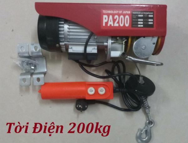 Tời điện 200kg giá rẻ