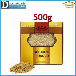 Hộp Nấm Linh chi đỏ Hoàng Gia Thượng Hạng xay bột 500g hộp thumbnail