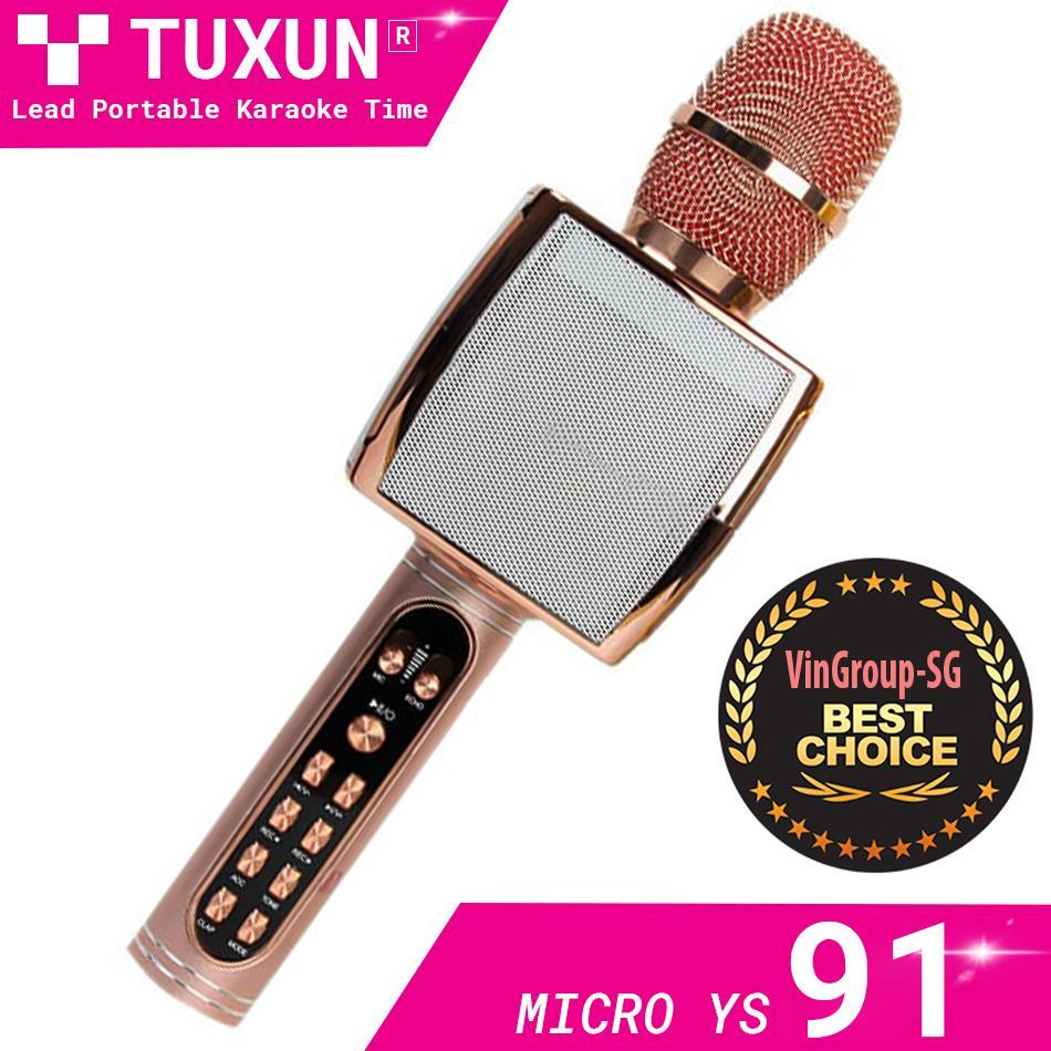 Mua ngay Micro Kèm Loa Bluetooth Karaoke YS-91 Mic Hát Karaoke Hay Hiện Nay. Mua Míc Kraoke Không Dây-YS-91 Phiên Bản Mới. Bảo Hành 1 đổi 1 Sele 50%