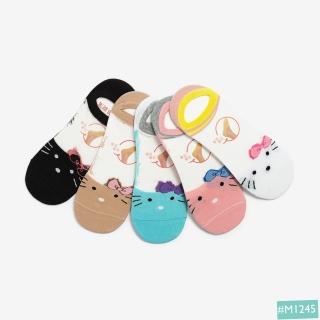 Tất Vớ Nữ Cổ Ngắn Hàn Quốc MINSU M1245 Hello Kitty Dễ Thương Cute, Chất Cotton Thoáng Mát, Thấm Hút Mồ Hôi thumbnail