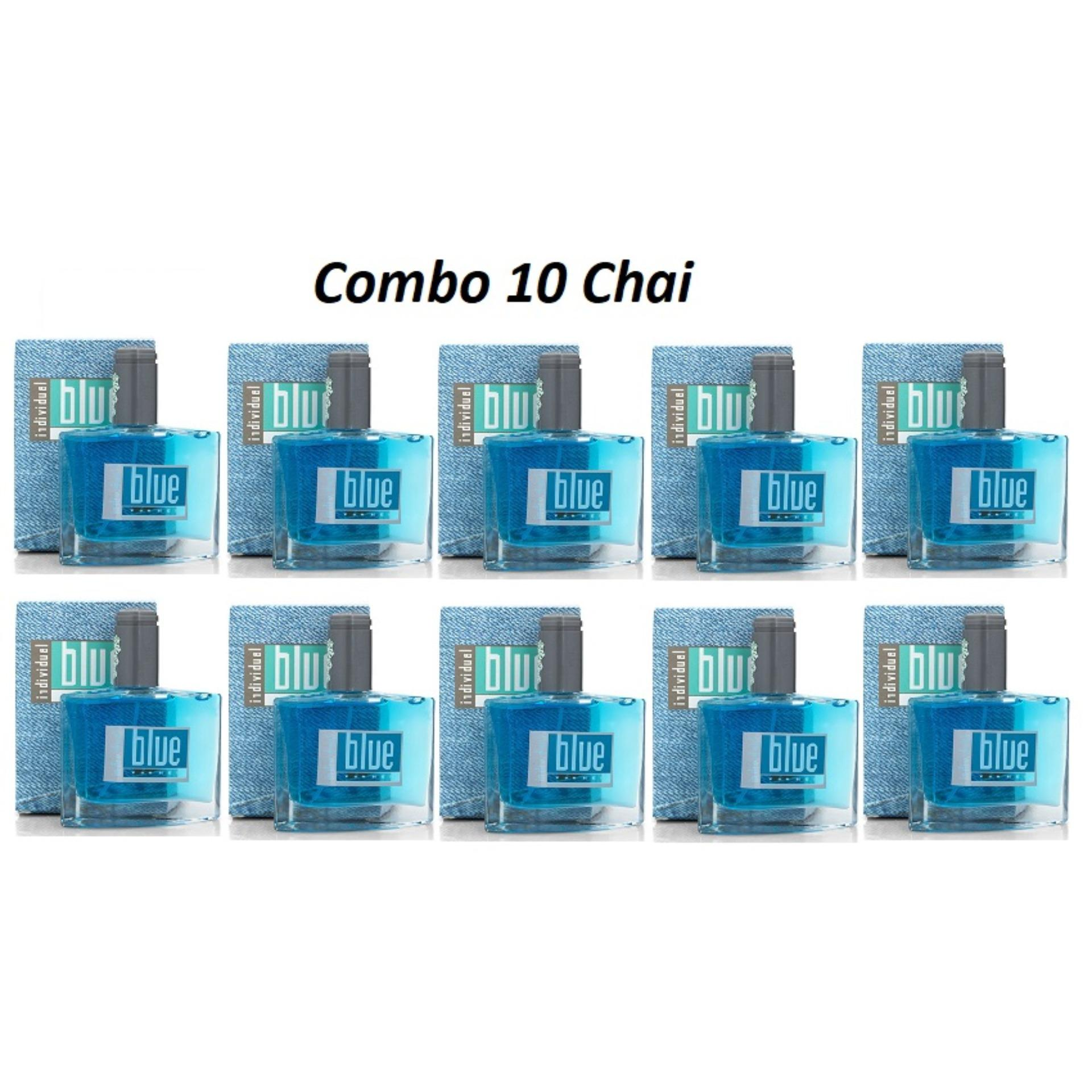 [Combo sỉ] 10 Chai Nước Hoa Nữ Blue For Her 50ml