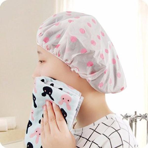 Mũ chụp tóc trong nhà tắm, mũ đội đầu, mũ chống ướt tóc, phụ kiện tiện dụng (MCT01) Huy Linh