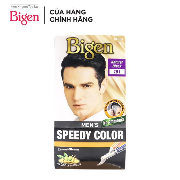 Thuốc Nhuộm Tóc phủ bạc dạng kem Cho Nam Giới Bigen Men's Speedy Color 80ml cao cấp