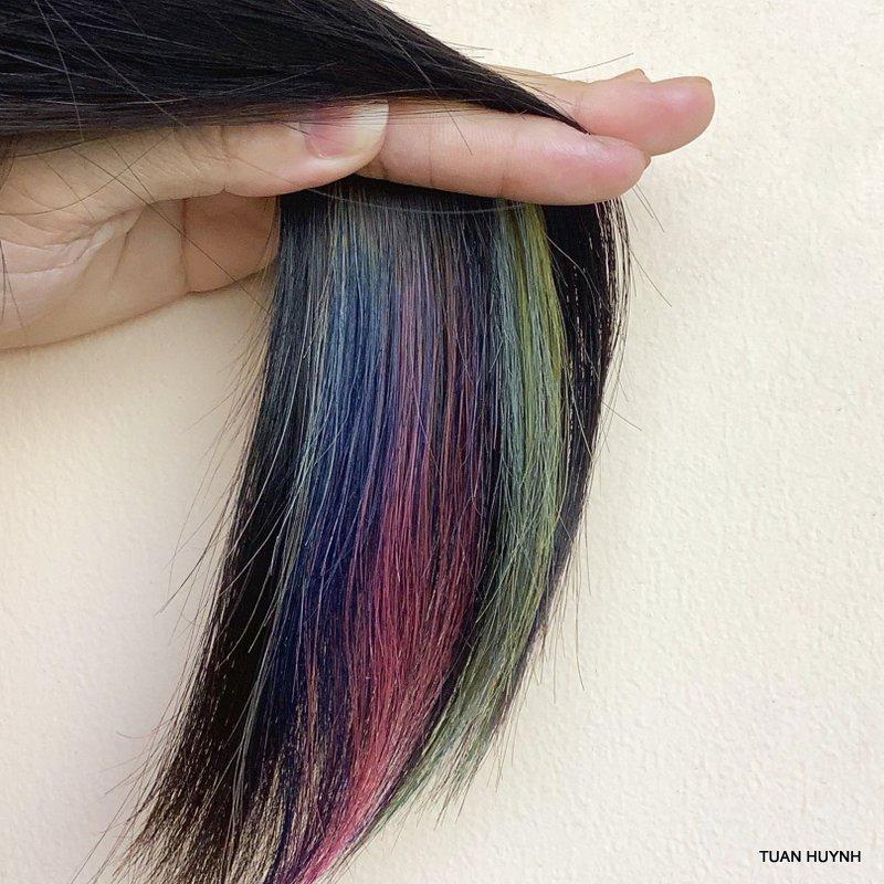 Combo 8 món Thuốc nhuộm tóc màu xám khói cao cấp