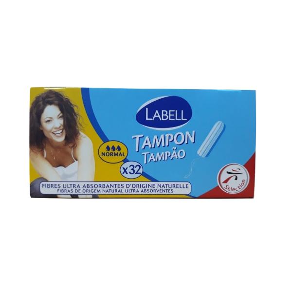 Tampon Labell không cần đẩy 3 giọt - hộp 32 que