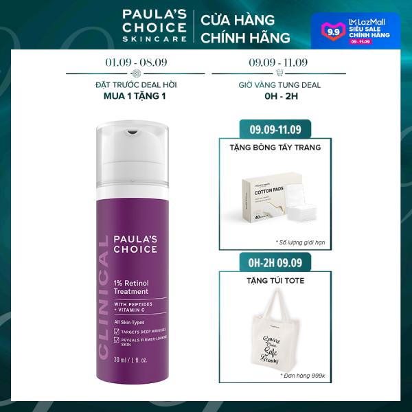 Tinh chất làm mờ nám và nếp nhăn Paula's Choice Clinical 1% Retinol Treatment 30 ml 8010 giá rẻ
