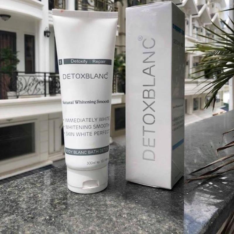 tắm trắng sủi bọt thải độc da Detox Blanc
