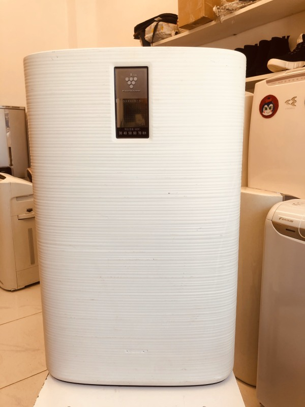 NỘI ĐỊA NHẬT Máy lọc không khí inverter tạo ion diệt khuẩn có bù ẩm Sharp KC-C100