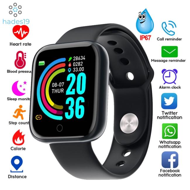Đồng Hồ Thông Minh Giá Rẻ T8 Nam Nữ Thể Thao Chống Nước Đồng Hồ Thông Minh Đồng Hồ Đeo Tay Theo Dõi Sức Khỏe Cho Android