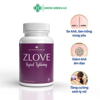 Zlove - Se khít và làm hồng vùng kín, Tăng cường sức khỏe phụ nữ sau sinh [BỘ 2 HỘP ] thumbnail