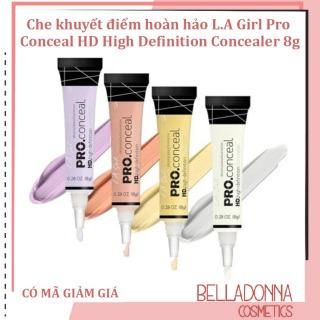 Che khuyết điểm hoàn hảo L.A Girl Pro Conceal HD High Definition Concealer 8g GC996 Highlighter thumbnail