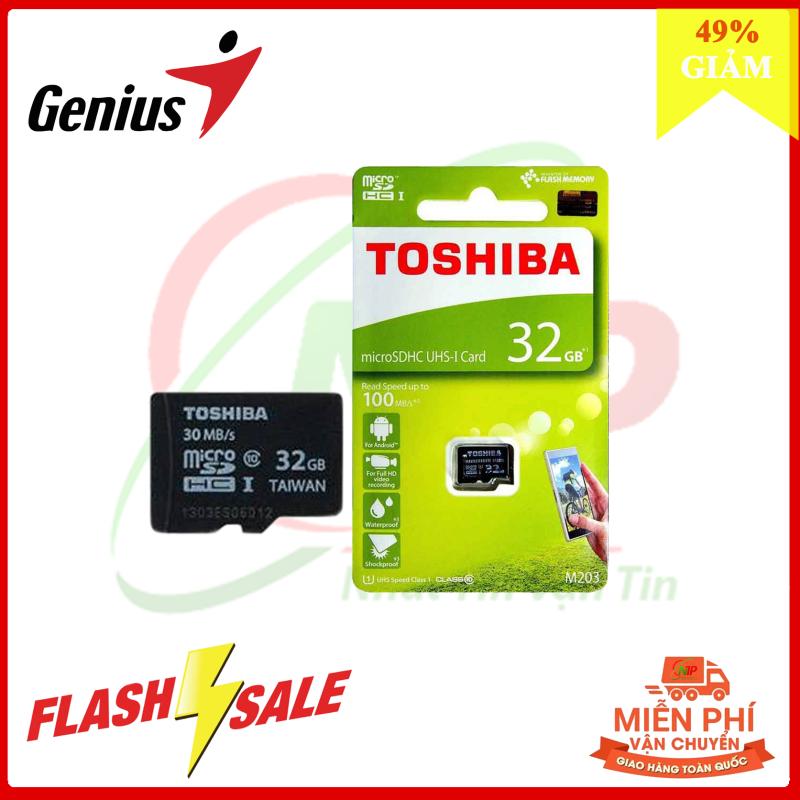 [CAMERA] THẺ NHỚ CHUYÊN DỤNG CHO CAMERA AN NINH TOSHIBA CLASS 10 32GB - BH 5 NĂM